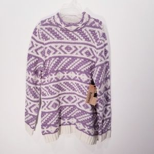 Ruff Hewn Knit Sweater NWT size Medium